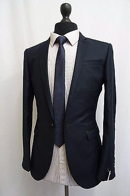 Men's Next Slim Fit Navy Suit 36R W30 L31 SS9280