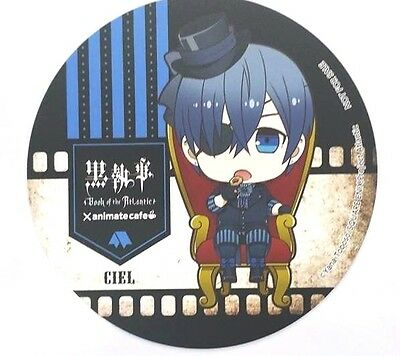 Black Butler Book of the Atlantic Coaster Ciel Animate Cafe Limited Anime F/S