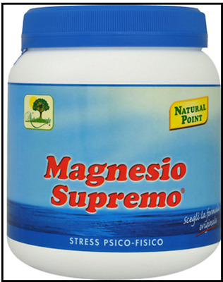 MAGNESIO SUPREMO 300 GR -  ANTISTRESS NATURALE Natural Point