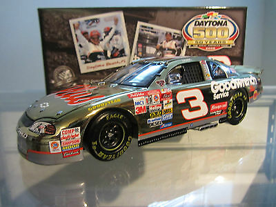 Dale Earnhardt Sr #3 GM Goodwrench 1998 Daytona 500 Race Win 1/24 NASCAR Diecast