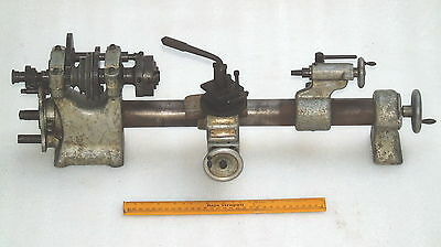 Superb Rare Antique The Wade Lathe Sussex England Watch Makers Machining Tools