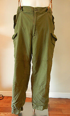 CANADIAN ARMY OLIVE DRAB COMBAT PANTS size 7340