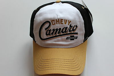 Chevy Camaro Chevrolet Licensed Cap Kappe One Size  Snapback GM General Motors