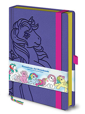 Official My Little Pony Retro Premium A5 Notebook Leather Look Cover SR72281