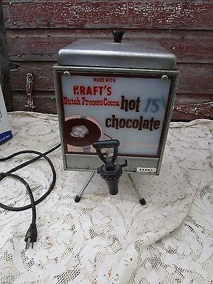 Vintage Karma Model CD 4 Hot chocolate Machine Mixer Kraft Lit Advertising  15C