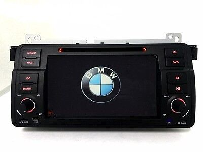 Autoradio GPS-DVD-BLUETOOTH-3G-USB pour BMW SERIE E46 (1998-2006) + CAMERA