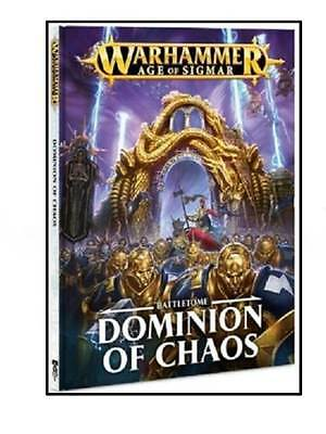 Warhammer Age Of Sigmar Battletome Dominion of Chaos NEW Still Shrink Wrapped