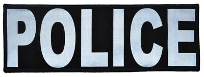 Reflective Police Patch - 3inch x 9inch