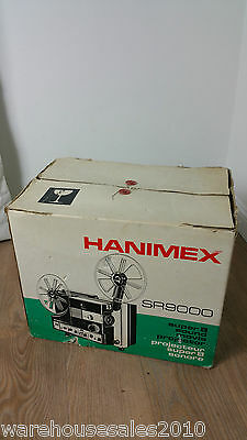 Cine Film Projector Hanimex SR9000 Super 8mm Sound In Original Box