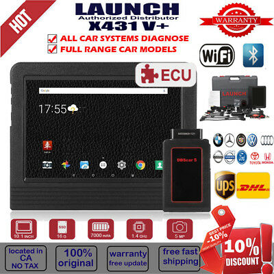 LAUNCH X431 V Auto OBD2 Diagnostic Scanner Full System BT WIFI For BMW Benz Audi