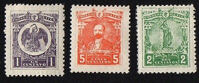 Mexico stamps. 1915 National Symbols. MH