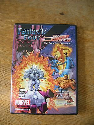 Fantastic Four and Silver Surfer GitCorp CD ROM.