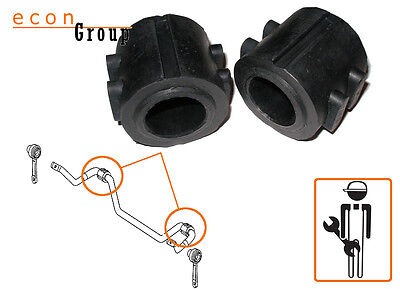 for Mercedes W211 W220 Front Suspension Stabiliser Anti Roll/Sway Bar Bushes Kit