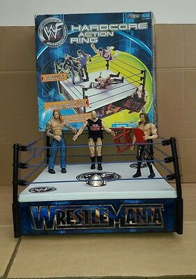 Jakks Pacific Wwf Wrestling Ring Wrestlers And Belt Bundle