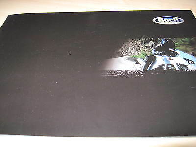 Buell Range Motorcycle Sales Brochures 2002