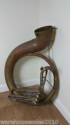 Sousaphone For Spares Brass Musical Instrument