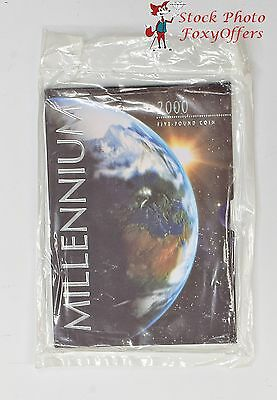 The 2nd Millennium 1999 2000 UK Crown - 5 Pounds - Royal Mint Unopened - BU