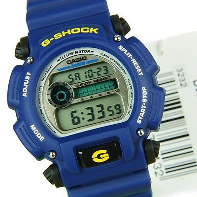 Casio Mens Blue Resin Band Classic Digital G-Shock Dw9052-2V