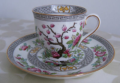 Lovely, Vintage Edwardian Aynsley 'indian Tree' Demitasse Cup & Saucer Patt 1173