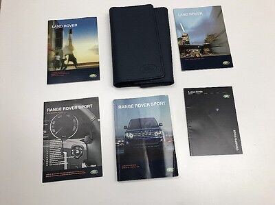 Land Rover Range Rover Sport  2010 Owners Manual Book In Luxury Case. Free Shp