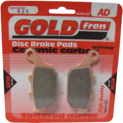 Rear Disc Brake Pads for Buell S1 Lightning 1998 1200cc  By GOLDfren