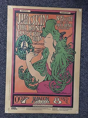 Avalon Ballroom 1966 Poster Oct 7 and 8 - Family Dog FD-29 (3) Big Brother