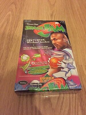 Vintage Space Jam Scratchers Cards - 1996/97 Upper Deck - SEALED NEW