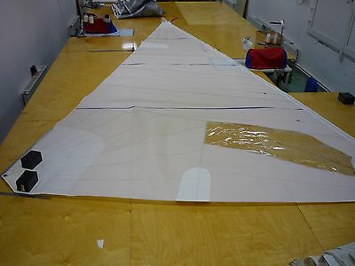 Dragon Racing Jib Sail, Very Good condition, Luff/Leech/Foot 6530/6200/3550mm