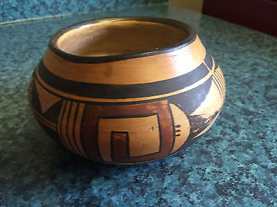 Old Pawn  Hopi Fluted Bowl  from John Lauc Collection