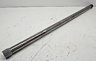 "32"" Axle Cambered Solid Quick Change / Floater 9"" Winters Race 031617-59"
