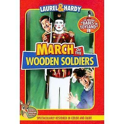 March of the Wooden Soldiers DVD Region 1 Brand New Authentic
