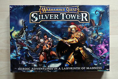 Warhammer Quest: Silver Tower Game in a Box
