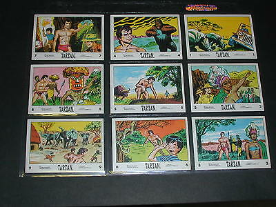 1966 Tarzan Complete Set of 66 Cards Anglo Confectionary - Nr Mt / Mint