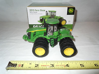 John Deere 9510R 4WD With Triples  2013 Farm Show Edition   By Ertl 1/64th Scale