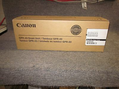 NEW Genuine Canon 0456B003 GPR-23 Black Drum Unit iR C2550 C2880 C3080 C3380 ...