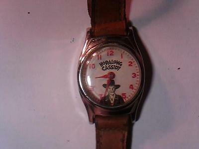 Vintage Hopalong Cassidy watch by US Time Not working