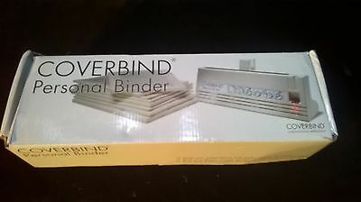 COVERBIND Personal Binder Book Binding Machine