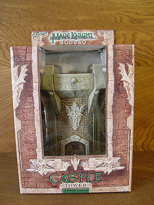 Mage Knight Castle Tower. WZK410US NEW in box. D&D minis RPG terrain Warhammer