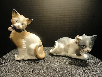 NAO by Lladro Cat Figurines