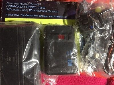 Dei Pager With Vibrating Receiver 3channel Model 795w