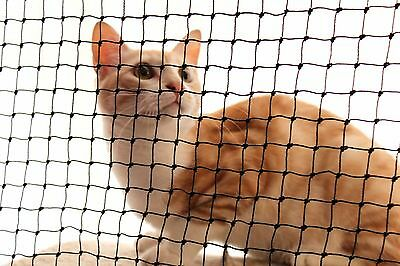 Cat Net 3.0m Wide x 9 ply (19mm Square) - UV Resistant - Cut to length