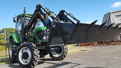 AgKing Tractor Front End Loader Quick Release 4 in 1 Bucket