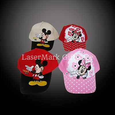 Brand new kids toddlers Mickey/Minnie Mouse Kids Hat/Cap Free Shipping