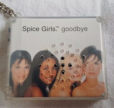 Spice Girls Goodbye Key Chain Music Song Player Official Yaboom 1999 Vintage
