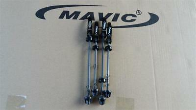 Mavic Road Bike Steel Quick Release Skewers 115g Front & Rear