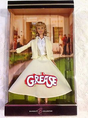New! Sandy from the Movie Grease Yellow Dress Barbie Doll Olivia Newton John