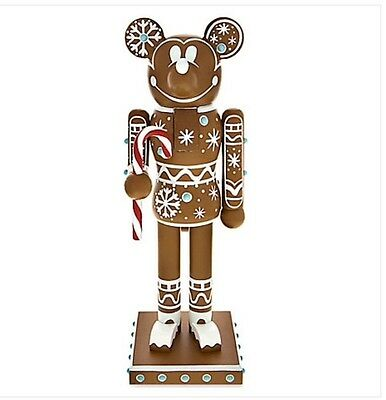 Disney Parks Mickey Mouse Gingerbread Man Nutcracker Christmas New In Box Gift