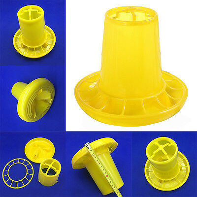 1 kg Chicken feeders Quail feed bucket Poultry Chick Bird farming tools Durable