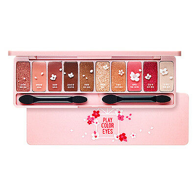 [ETUDE HOUSE] Play Color Eyes #Cherry Blossom 0.8g * 10 color / Silky texture
