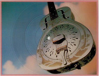 Dire Straits - Brothers In Arms - Special Edit Shaped Disc. Mint Never Played
